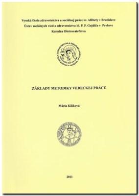 zaklady metodiky vedeckej prace
